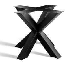 Metalen Onderstel voor Ronde of Vierkante tafel, industrie look