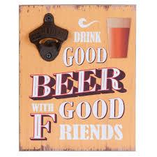Bier bord met opener