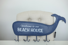 Welcome to our beach house (kapstokje)
