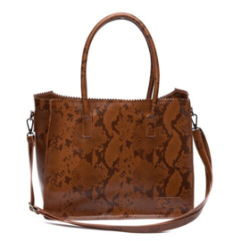 Natural Bag Lisa - Camel (Merk : Zebra)