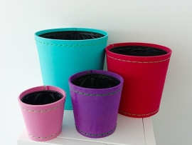 Trendy  foam potten (set van 4)