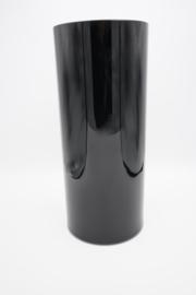 Zwarte cilindervaas