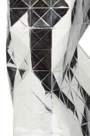 Paper Vase Cover - Silver (Zilver)
