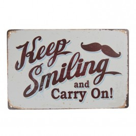Keep smiling and carry on!