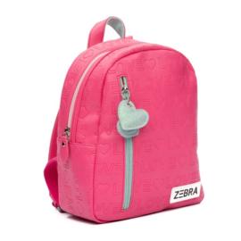 Rugzak (S) Love - Pink (Merk: Zebra)