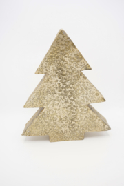 Aluminium Kerstboompje - goud