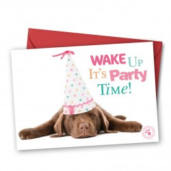 Wake up it's party time