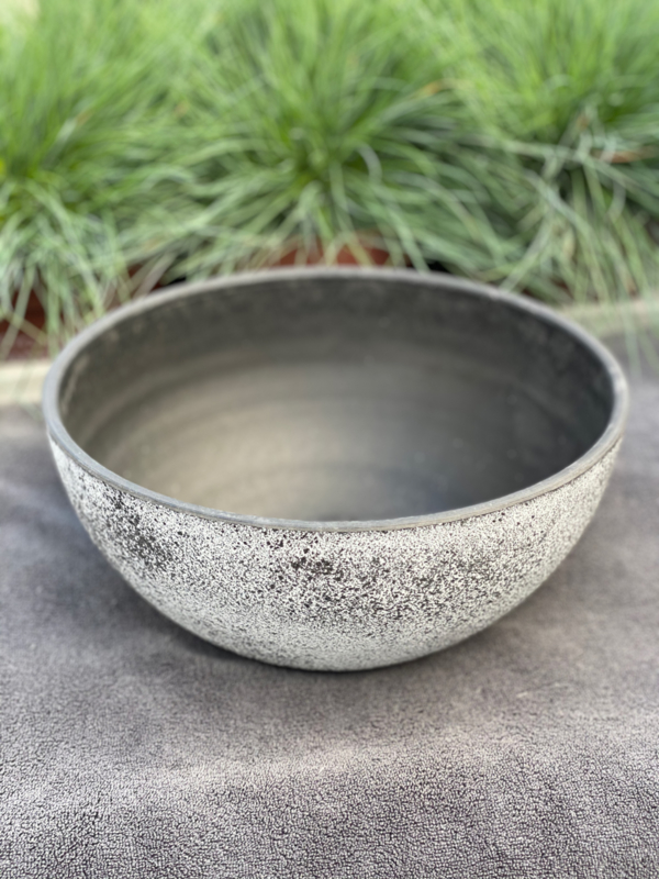 Bowl Nova concrete grey D25 H12