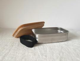 RVS lunchbox, 650 ml