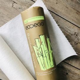 Herbruikbare keukendoekjes bamboe, (20 stuks!)