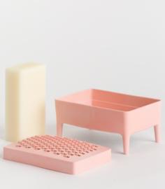 Bubble buddy millenial pink (inclusief schoonmaakzeep)
