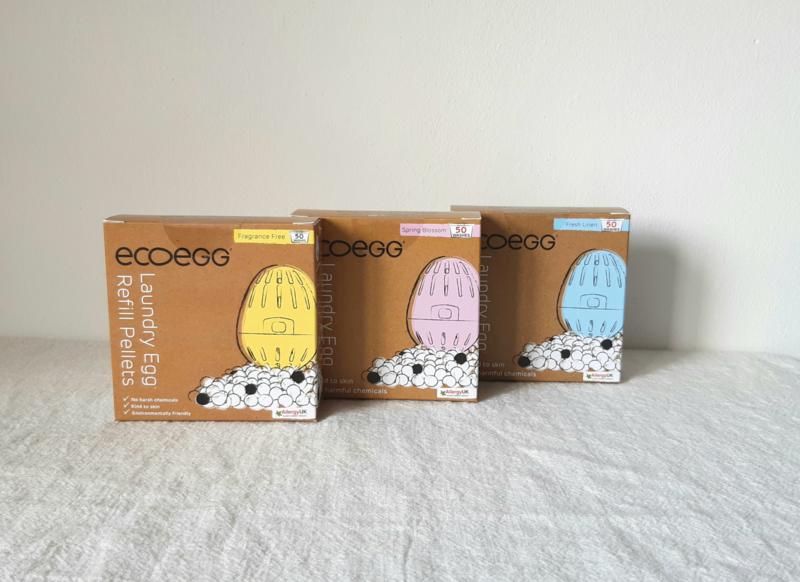 Refill EcoEgg - linnen, blossom, geurloos