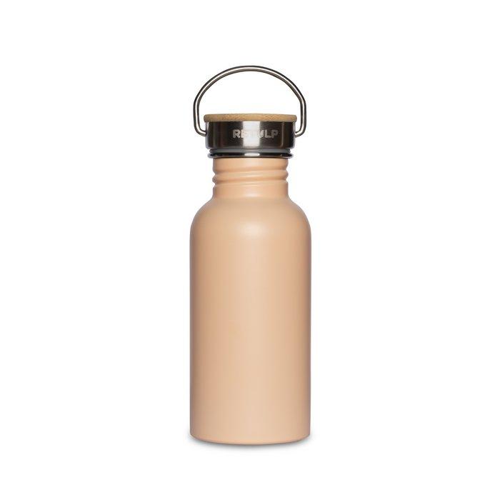 RVS drinkfles champagnepink, 500 ml