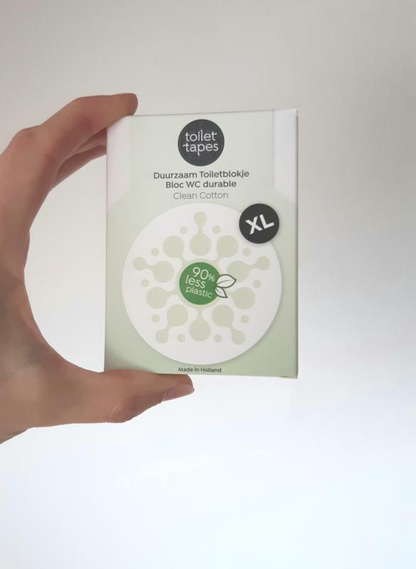 Toiletverfrisser clean cotton (90% minder plastic!)