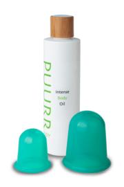 Intense Body Oil & Cups Kit