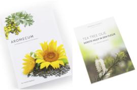 Aromatherapie Boekenset:  Aromecum & Tea Tree boekje