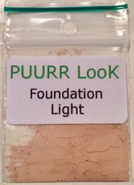 Sample Mineral Foundation Light
