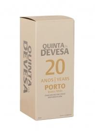 Quinta da Devesa 20 Years White Porto 500 ML. incl. geschenkverpakking