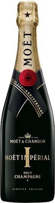 Moët & Chandon Brut Impérial Champagne - 150 Year Limited Edition - 1 x 75 cl