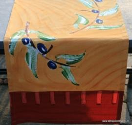 tafelloper terracotta & seed olive