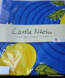 tafelkleed blue lemon