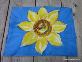 Placemat sunflowers