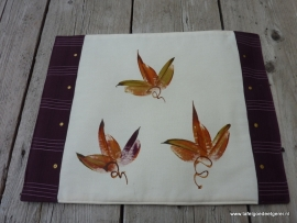 Placemat autumn leaf