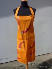 Schort spaanse peper oranje