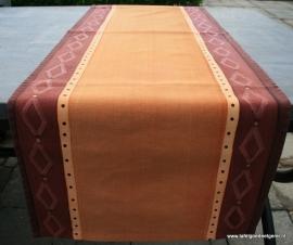 tafelloper ochre/orange diamond