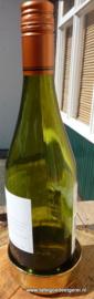 Wijnflesonderzetter geel koper