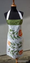 Schort protea groen