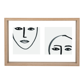 Urban Nature Culture | Floating frame Aesthetic Double, natural
