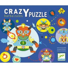 Djeco Crazy Puzzle Barba'zules 3+