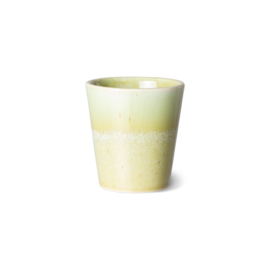 HKliving | 70's Ceramic ristretto mug / ristrettomokje | Pistachio