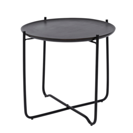Urban Nature Culture | Coffee table with serving tray Fez, shizu black small