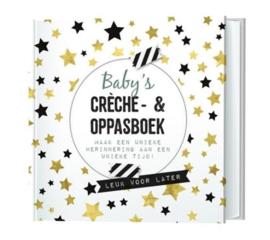 """Invulboek """"Baby's creche en oppasboek"""""""