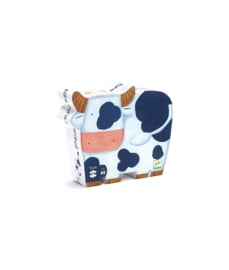 Djeco Silhouet puzzel Koeien op de boerderij   24 stukjes