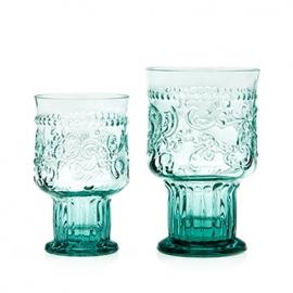 Van Verre Fleur de Lys Fijnzinnig glaswerk Wijnglas Bokaal S Blue