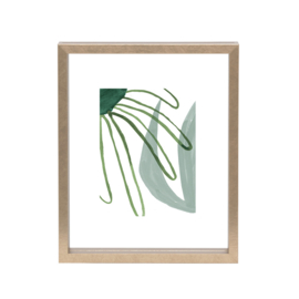 Urban Nature Culture   Photo frame floating gold, small