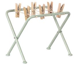 Maileg Drying rack with peggs | Droogrek met knijpers