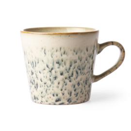 HKliving ceramic 70's cappuccino mug Hail
