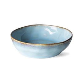 HKliving | 70's Ceramic Pastabowl / Pastabord | Lagune