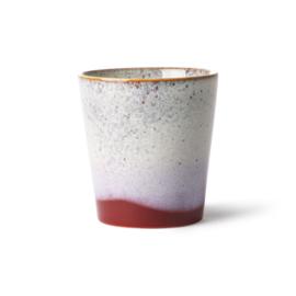 HKliving Ceramic 70's mug Frost