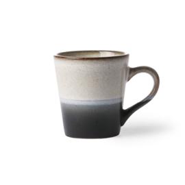 HKliving ceramic 70's espresso mug Rock