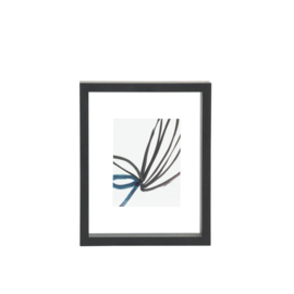 Urban Nature Culture | Photo frame floating black, small