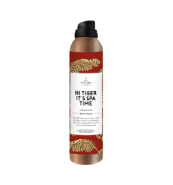 The Gift Label Body foam | Hi tiger It's spa time