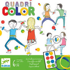 Djeco Behendigheidsspel Quadri color 6-12 jaar