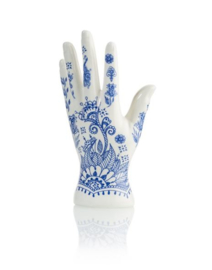 Henna Jewlery Holder | Sieradenhouder delftsblauw Henna Hand
