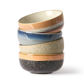 HKliving  Ceramics: 70s tapas bowls (set van 4)