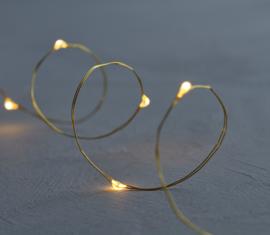 Sirius Nordic Design Knirke lichtsnoer 20 LED gold